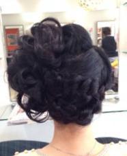 結婚式の二次会に。 cham cello Hair 所属・アライユウコのスタイル