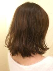 外ハネが最近人気です^ - ^ ミュゼ柱店所属・下村崇晃のスタイル