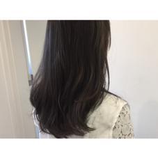ダークグレージュカラー✂︎ [+]tag's所属・中野美菜子のスタイル