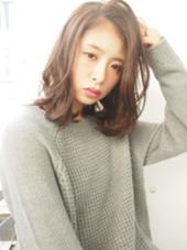 ライムベージュで透明感を♩ rêve hair design所属・浦田陽平のスタイル