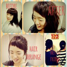 2015☆ショートバングボブ\(^o^)/ hair an floren所属・ミツハシカズキのスタイル