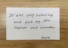 無料モニターでの感想です♡ 雨の中ありがとうございました! 肌質改善オーガニックサロンnaturanico所属・杉田いづみのフォト