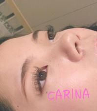 カール   D  長さ  11、12、13㎜  太さ  0.15㎜ CARINA  Brand new〜reverie〜上本町店所属・田中菜津実のスタイル