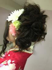 アップ  大切な一日を素敵に過ごしてみませんか? Hair Salon Valor所属・Shichanのスタイル