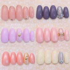 シンプルコース♡  お好きなカラーに変更可能♡ 麻布十番RoseRokoのフォト