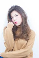 ムラ感アッシュで外国人風に☆ 大きめカールがオススメ! sowi  hair  design所属・長谷川聖太のスタイル