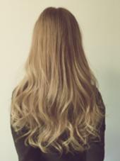 外国人風ハイトーンカラー ナチュラルグラデーション Agu hair RIDE所属・Agu hairRIDEのスタイル