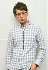 メンズのショート パーマstyle☆ Z SALON所属・葛西ユーキのスタイル