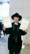 フォトコンテストで賞を頂いた時です。 Frais所属・夏井裕司のスタイル