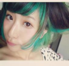 hair studio MENOS所属・ハマダサエのスタイル