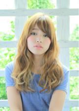 甘過ぎない大人ガーリー maaru hair所属・永井貴之のスタイル