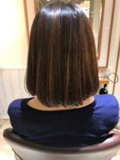 縮毛矯正 Neolive uri所属・中村若菜のスタイル