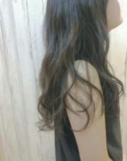 抜群の透明感はイルミナカラーで+゜ ALLURE HAIR〜elfi〜所属・間嶋紗由美のスタイル