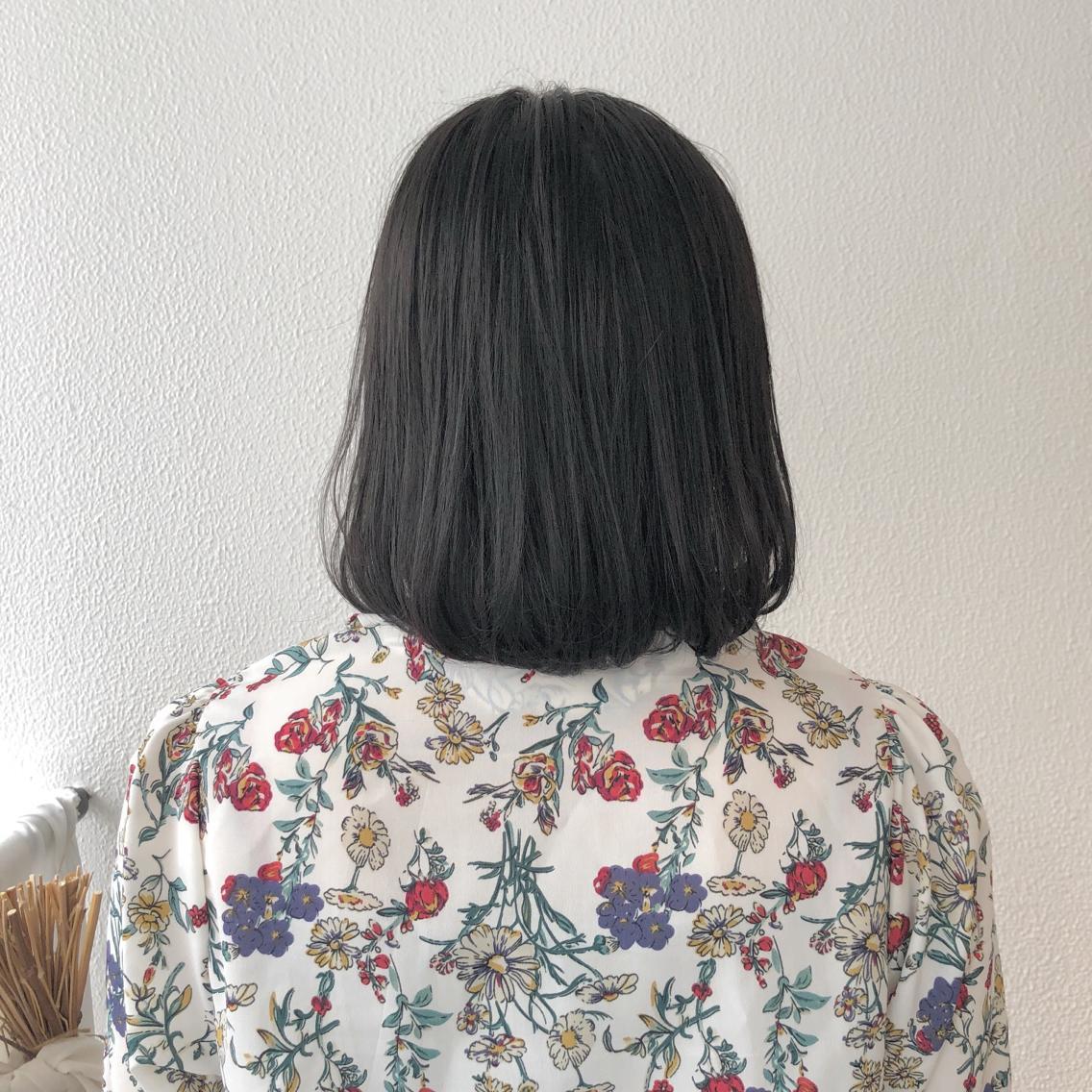 #ショート #カラー #パーマ #ヘアアレンジ 【ナチュラルボブ】  Instagramにもヘアスタイル載せてますので是非♪♪  https://instagram.com/yuuki_matsui_/