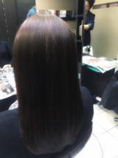 トリートメントでうるうるしっとりまとまる髪に hair&make   miq駒込所属・フジサキマイのスタイル