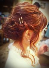 おくれ毛たっぷり❤︎甘めスタイル♪ Dejave  hair&space所属・松本霞のスタイル
