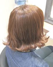 外ハネロブ×ベージュ KENJE横須賀中央所属・イシハラユージのスタイル
