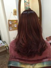 hair vago所属・三好美里のスタイル