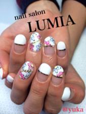 手書きアートも得意です(^^) nail salon LUMIA所属・nailsalonLUMIAのフォト