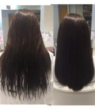 並行のカットラインから丸みのあるラインにしました。 髪質改善ヘアエステサロン Relacion所属・奈良部潤平のスタイル