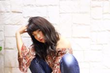 ツヤのある柔らかいカラーです!  Dejave hair&space 千葉店所属・鈴木史織のスタイル