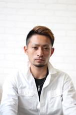 アシンメトリーボウズ ヘアークリアー谷塚所属・石鳥孝男のスタイル