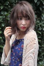 トリプルカラーで透け感ハイライトカラー☆ angelgaff原宿所属・中島勝吾のスタイル
