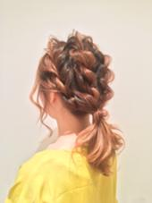 menu : hair arrange FEERIE tsukuda所属・熊谷玲美のスタイル