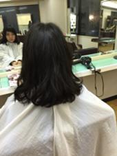 毛先をふわっとさせたパーマです! 松本平太郎美容室  国立店所属・小松崎晃弘のスタイル