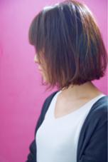 女性限定切りっぱなしボブ FIX-UP所属・宮崎陽平のスタイル