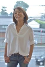 ハイトーンカラーでキツめな印象にならないように丸みのでるカットで柔らかかさをプラス ブロッサム熊谷店所属・石井努のスタイル