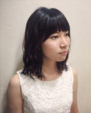 ミディアム 波ウェーブ sweet  pluscare所属・内田千晶のスタイル
