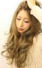 外国人風大人かき上げロング Y.S./PARK所属・HORINODAISUKEのスタイル