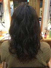 こて巻き風パーマ❣️ Dejave hair&space所属・富樫萌のスタイル