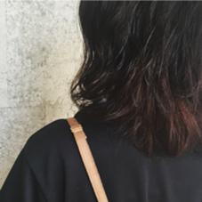 ポイントブリーチでグラデーションカラー RISA  granche所属・村上遥香のスタイル