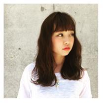 ROUNGE hair所属・千葉彩乃のスタイル