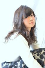 初ミニモアプリでのモデル撮影の作品! やや前上りのローレイヤースタイル! 軽く巻いて、ソフトワックスでふんわりと(^^)‼︎  fukka hair所属・hiro(ヒロ)のスタイル