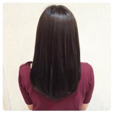 オーガニックカラー✂︎ お肌が弱い人も安心の低刺激✂︎ 染まり上がりのツヤに驚きです✂︎ Hair Resort THE AMAN GIRL所属・オグラタカヒロのスタイル