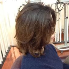 hair&spa an contour所属・ヘアーアンドスパアンコントゥールのスタイル