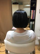 アゴライン前下がりボブ! ディンプル所属・斉藤勝のスタイル