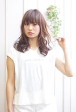 新作ヌーディーパーマ×透け感カラー aL-ter Rire所属・金子尚平のスタイル