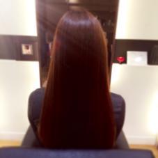 トリートメントカラーで、つやつやに(^O^)♡ hair gloss所属・熊澤愛のスタイル