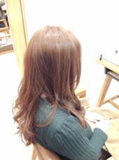 透明感*アッシュベージュ paige by neolive所属・松下芽衣のスタイル