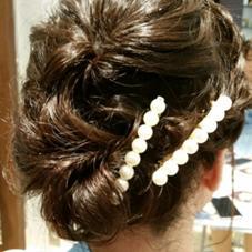 ダウンヘアーも、柔らかくまとめれば、若々しく ローグヘアー亀有店所属・宮田香代のスタイル
