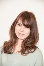 ☆愛されアッシュ系カラーのロングスタイル☆ hair  gentil所属・松本てるひとのスタイル