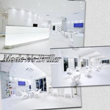 80坪のBIGサロン 白を基調とした癒しの空間でおもてなし✨ モードケイズブリエ所属・サロンディレクター小松 直樹のスタイル