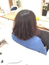 15センチバッサリカット! ゆるふわボブちゃん☆ S.hair&nail所属・彦坂凌のスタイル