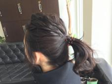これは簡単アレンジ☆ ポニーテール☆ JUNO所属・中山陽平のスタイル