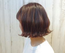 イルミナカラー×外はねボブ‧✧̣̥̇‧ ALLURE HAIR〜elfi〜所属・間嶋紗由美のスタイル