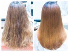 髪質改善後 ここまで綺麗にしてからカラーリングします。 QUATRO 千葉店所属・鯉沼達也のスタイル